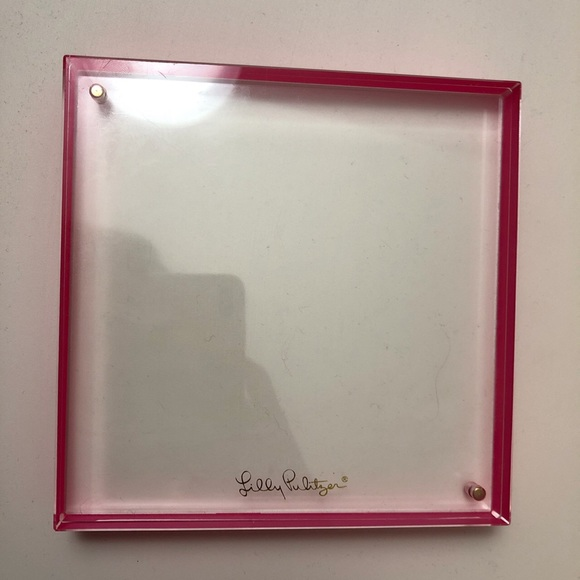 Lilly Pulitzer Floating Frame